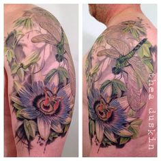 passionflower tattoo - Google Search