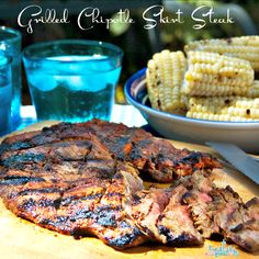 Holland House Recipe: Easy Grilled Chipotle Skirt Steak  @hollandhousecw #recipe #grill #barbeque