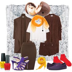If you ever wanted to dress up like a #Cadbury #CremeEgg, I've got you covered! ;)  #Easter #Chocolate #Fun #Polyvore