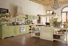 дневник дизайнера: Классические итальянские кухни Antares - традиции средиземноморья!