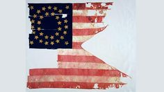 This is the only remaining flag from General Custer's 1876 last stand at the Battle of Little Bighorn and one of the most expensive pieces of war memorabilia. The flag was recently auctioned off for over $2,000,000.