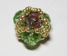 плетение бисером фото, бусина из бисера, фуллерен   -   weaving beads photo, beaded bead, fullerene