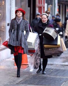 """Whoever said money can't buy happiness doesn't know where to shop."" - Blair Waldorf"