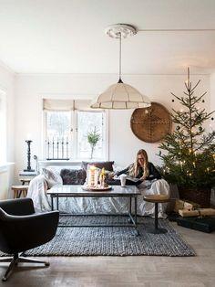 Kattoparruja, rustiikkia ja joulukoti