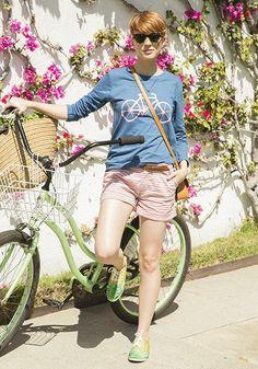 Happy bike to work day! #cyclechic