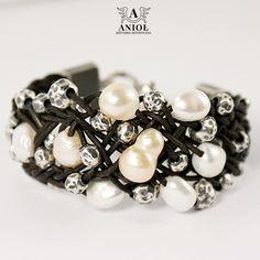 Pearls Glow - bransoleta / Anioł / Biżuteria / Bransolety