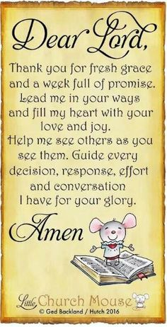 In Your son Jesus Christ name! - The Little Church Mouse Prayer Quotes, Spiritual Quotes, Bible Quotes, Godly Qoutes, Faith Quotes, Sunday Quotes Funny, Good Night Quotes, Morning Quotes, Fail