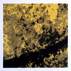 """This screenprint is called """"Dreamscape 4"""", one of a series of 24 prints created in early 2012."""