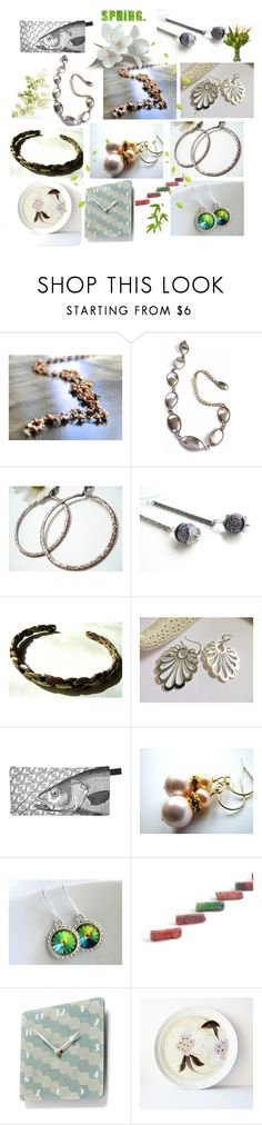 Spring Gifts by anna-recycle on Polyvore featuring Calvin Klein, Noritake, modern, rustic and vintage