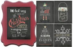 AMAAAZZING DEAL!  These are sooo darling!  2 high quality art prints for $5.99! GroopDealz | BOGO FREE Christmas Prints-'Tis the Season