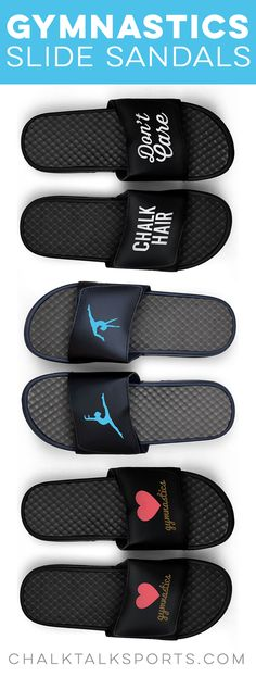 Gymnasts will love our gymnastics Repwell® slide sandals for both their comfort and their style. Each pair has an unique gymnastics design and cushioned sole. Gymnastics Coaching, Gymnastics Gifts, Gymnastics Things, Modern Grey Bedroom, Romantic Master Bedroom, Coach Christmas Gifts, Coach Gifts, Cute Bedroom Ideas, Budget Bedroom