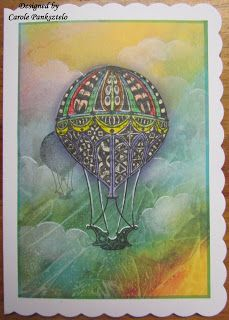 """Crafty Mrs P: Clarity Challenge March 2017 - """"It's a man's world. Clarity Card, Barbara Gray, Its A Mans World, Balloon Ideas, Air Balloon, Projects To Try, March, Challenges, Crafty"""