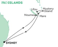 P&O Cruise. Explore the Loyalty Islands - E550 Sydney, 7 December 2015, 9 nights, $1014 interior or ocean view and 200 onboard credit. Pacific Eden