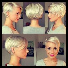 40 Chic Short Haircuts: Popular Short Hairstyles For 2018 ... | WomanAdvise - WOMANADVISE.COM #ShortHairStyles