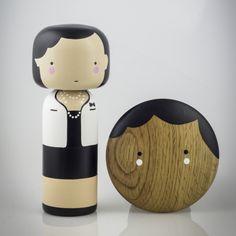 Coco available in kokeshi doll & wall hook #sketchinc #luciekaas #chanel