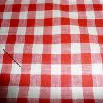 Stoff der woche  vichy :: rot Breite: 80 cm  Material: Baumwolle diese Woche: 3,45 €/m