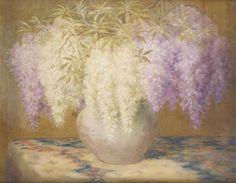 Vase fleuri von Constant Montald