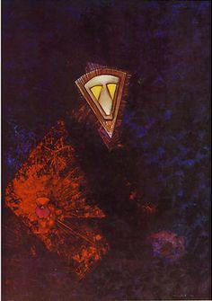 'Albertus Magnus', by Max Ernst, oil-on-canvas, 1957, De Ménil Family Collection, Houston.