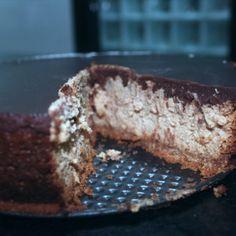 @gustavosettebicalho Cheesecake de Doce de leite com base de paçoca