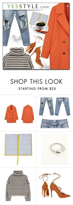 """""""YESSTYLE.com"""" by monmondefou ❤ liked on Polyvore featuring Ashlee, Smythson, DANI LOVE and yesstyle"""