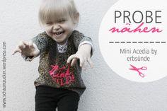 "Lässiger Kinderpullover ""Mini Acedia"" von erbsünde."