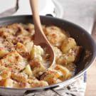 Try the Cheesy Potato Gratin Recipe on williams-sonoma.com/  http://www.williams-sonoma.com/recipe/cheesy-potato-gratin.html