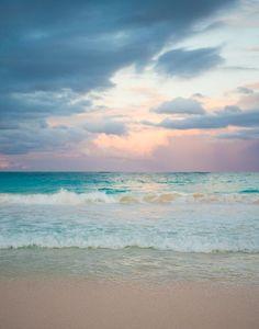 photo poster sea beach sunrise Encadrée imprimer-tempête vagues océaniques au coucher du soleil