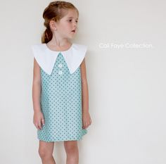 Simply Chic Dress PDF pattern and tutorial  by CaliFayeCollection, $8.99