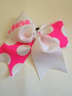 Cheer Bow by CheerfulCheerBows on Etsy