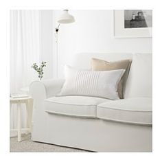 IKEA - EKTORP, Sofa, Vittaryd white, , Seat cushions filled with high resilience foam and polyester fiber wadding provide comfortable support…