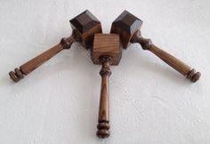 Masonic Supply Shop - Thor  style Gavel, $60.03 (http://www.masonicsupplyshop.com/thor-style-gavel/)