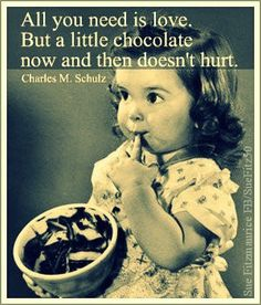 Why girls like chocolate