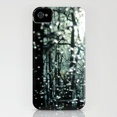 Blue Burns the Twilight iPhone Case by Rebecca A Sherman - $35.00