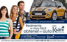 """El programa """"Conduzca el automóvil de sus sueños"""" de Kyäni es un incentivo que le permite conducir con estilo por nuestra cuenta. Este programa de recompensas de automóviles es el programa más agresivo de la industria. Para un nivel moderado de producción puede ganar $1.200 USD al mes para el automóvil de sus sueños."""