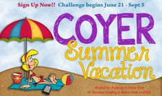 COYER Summer Vacation Challenge [June 21st – September 5th]