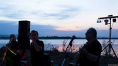 Les estivales de Villeneuve-Lès-Maguelone Vins AOC Languedoc Celestial, Sunset, Concert, Outdoor, Musicians, Wine, Outdoors, Concerts, Sunsets