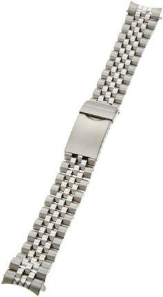 Hadley-Roma Men's MB4216RW-180 18-mm Stainless Steel Watch Bracelet - http://www.specialdaysgift.com/hadley-roma-mens-mb4216rw-180-18-mm-stainless-steel-watch-bracelet/