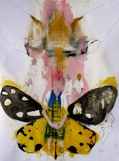 Saatchi Online Artist: olga gal; Oil, 2013, Painting under the mother´s wing