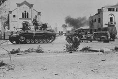 1942 Libien - Tobruk , Deutscher Pz.Kpfw.III neben einer russischen Kanone F-22 76mm - pin by Paolo Marzioli