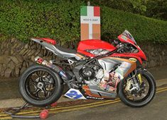 Iron Maiden's Trooper beer sponsoring Hickman's MV Agusta - Isle of Man TT Official Website
