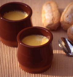 Crèmes à la fleur d'oranger - Ôdélices : Recettes de cuisine faciles et originales !