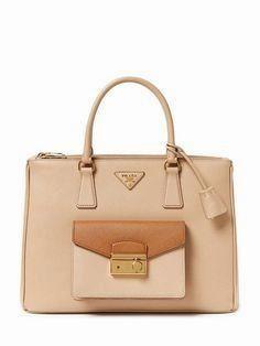 46451fec0660 Prada Saffiano Lux L  leather  purse