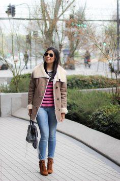 look do dia casaco quente jeans bota santiago chile borboletas na carteira fashion estilo style_-2