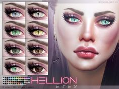 Hellion piercing Eyes N88 by Pralinesims at TSR via Sims 4 Updates