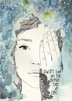 Bright side, Digitaldruck A3