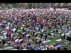 Yoga on Parliament Hill, Ottawa. For more information on Ottawa visit www.ottawatourism.ca