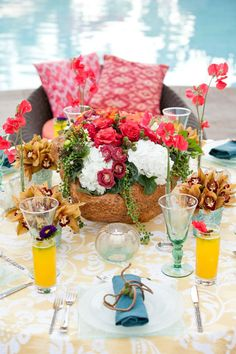 Balinese wedding decorations google search balinese pinterest tabletops balinese bliss exquisite weddings junglespirit Gallery