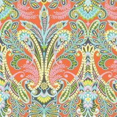 Josephine Kimberling - Caravan Dreams - Floral in Orange