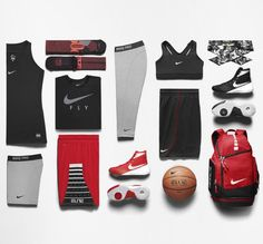 Nike's Women's Basketball Collection, The First Actually Designed by Women. // Explore & shop the collection: (http://www.racked.com/2015/10/1/9433755/nike-womens-basketball-apparel#4843832)