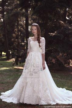 【楽天市場】ウェディングドレス_ウエディングドレス_Aライン_マーメイド(w2014)二次会ドレス:ブライダルアモーレ